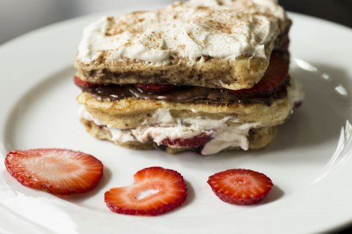 Strawberry-and-Nutella-Stuffed French Toast