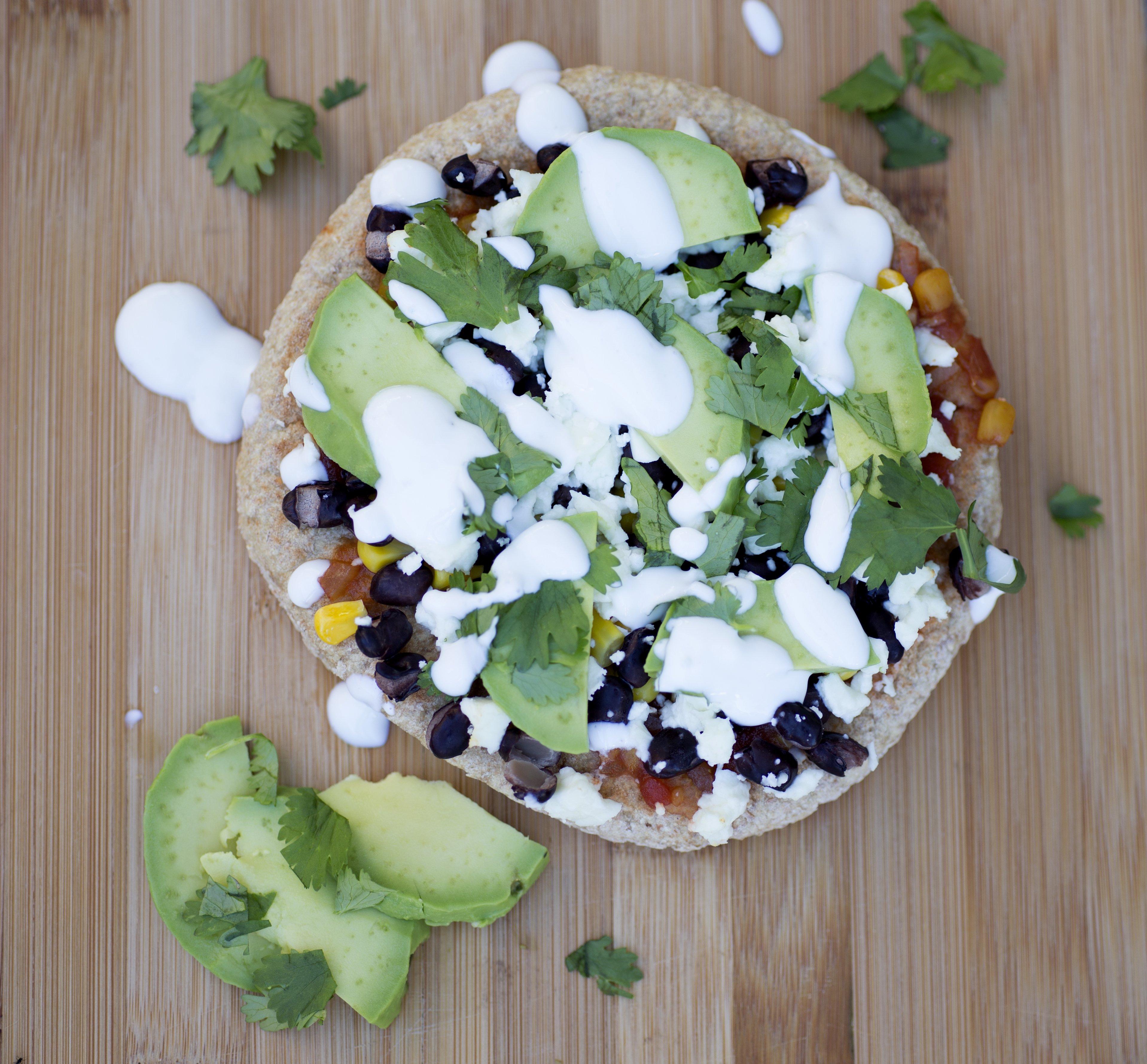 Mexican Pita Pizza