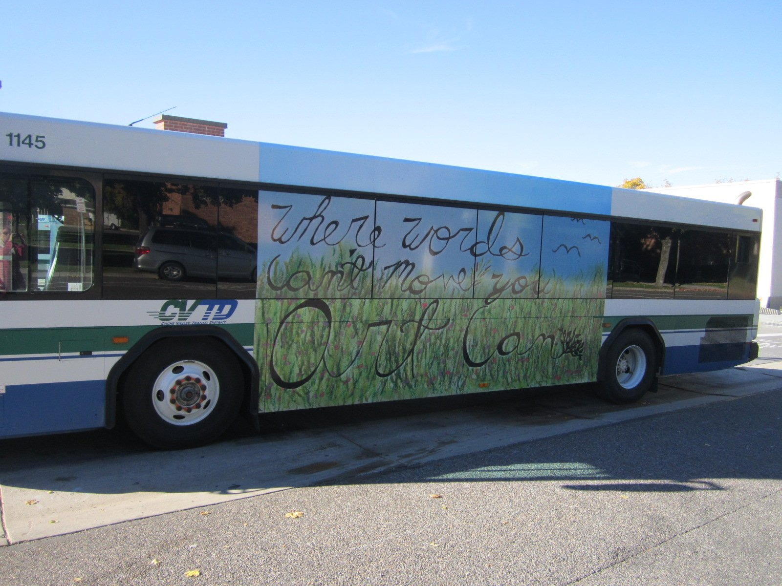 Cache Valley Transit District Buses Transformed