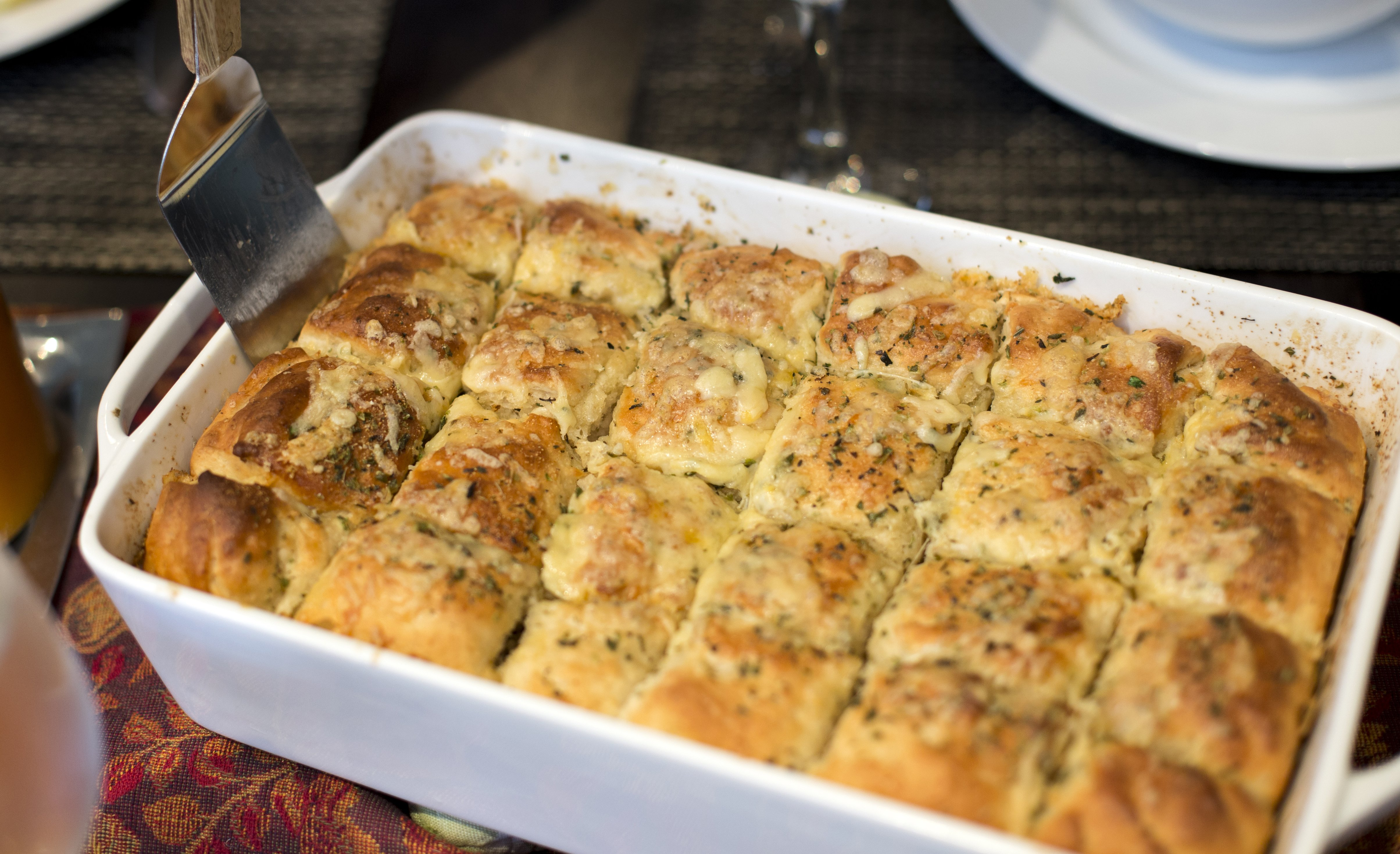 Herb & Cheese Pan Bread