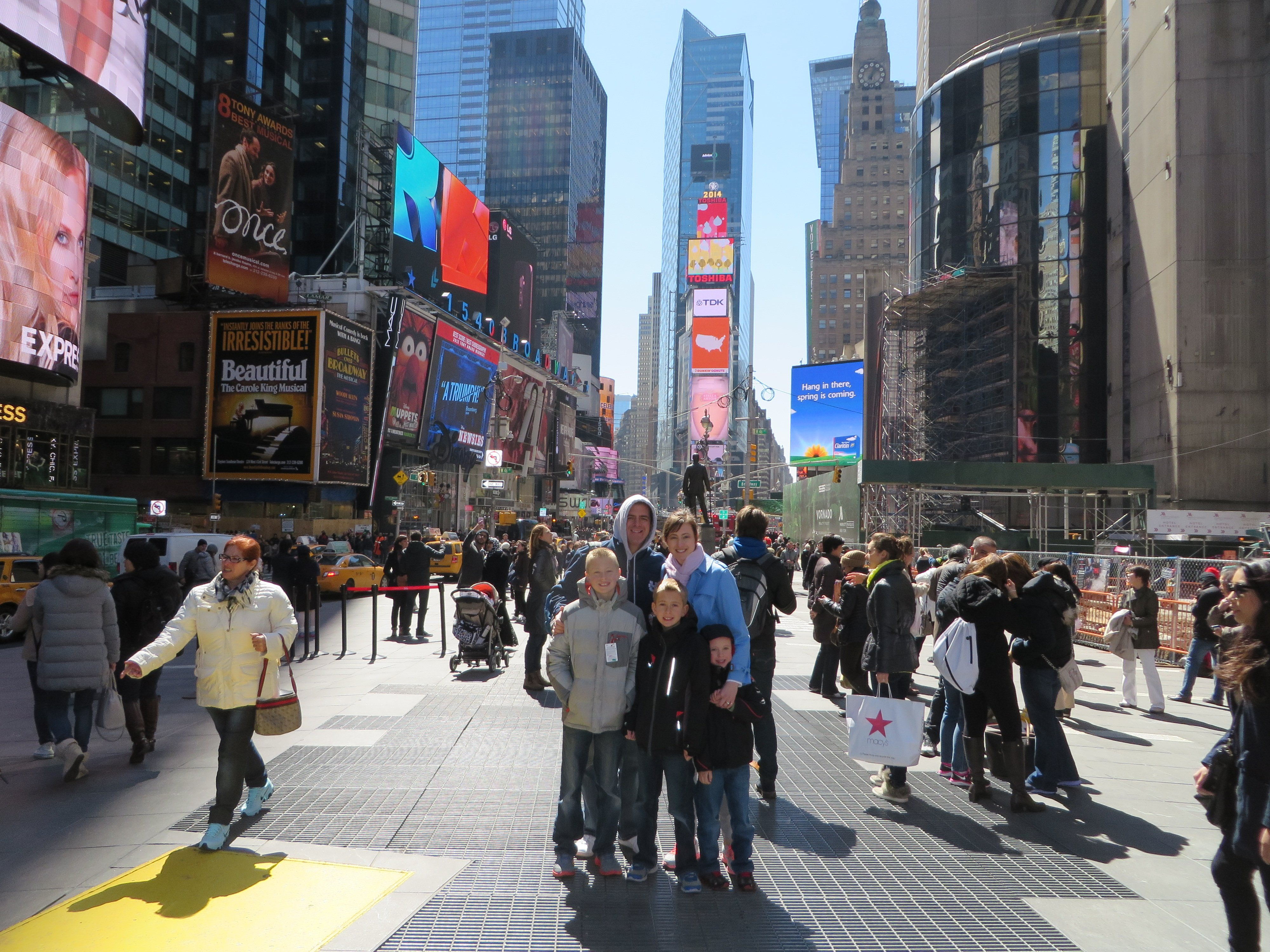 Family Firsts: N.Y.C. or Bust