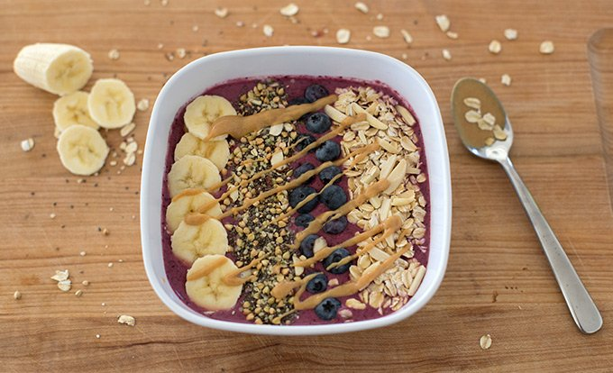 Five-Minute Smoothie Bowl