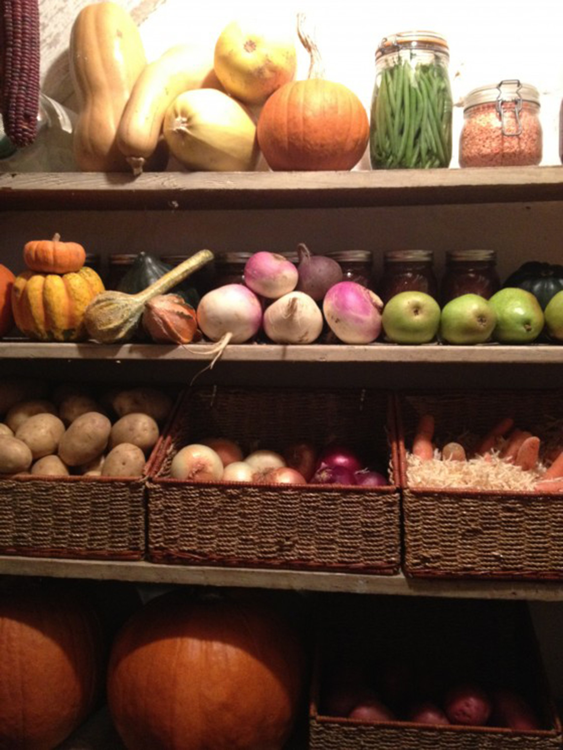 Storing Vegetables for Winter