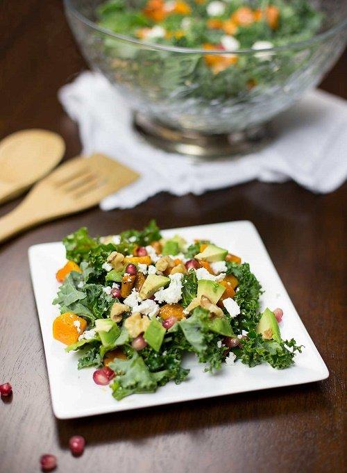 Wintry Kale Salad