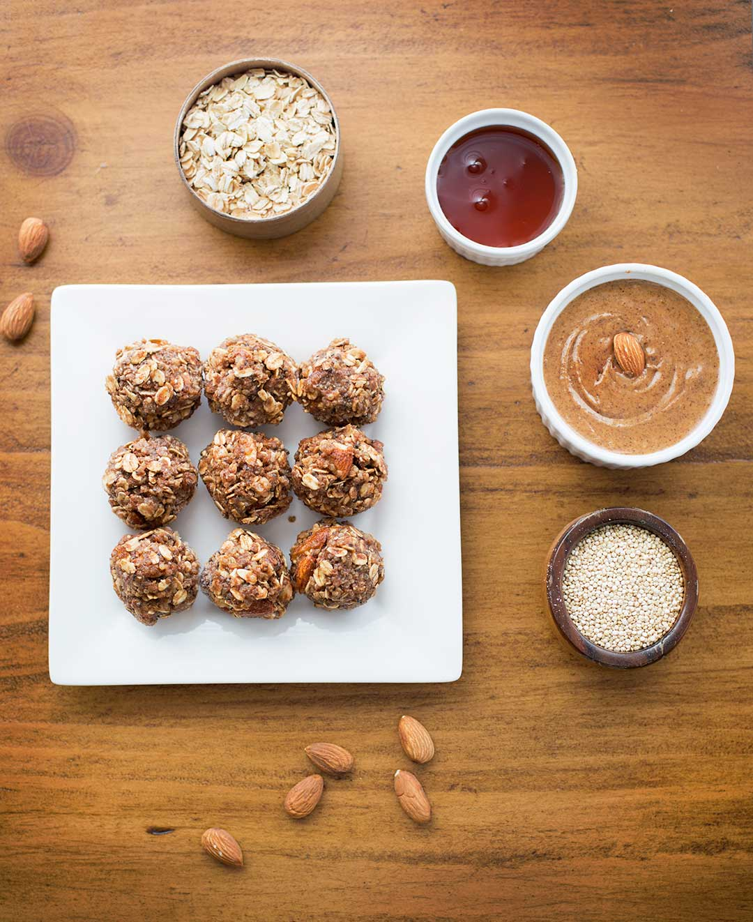 Chocolate Quinoa Energy Bites