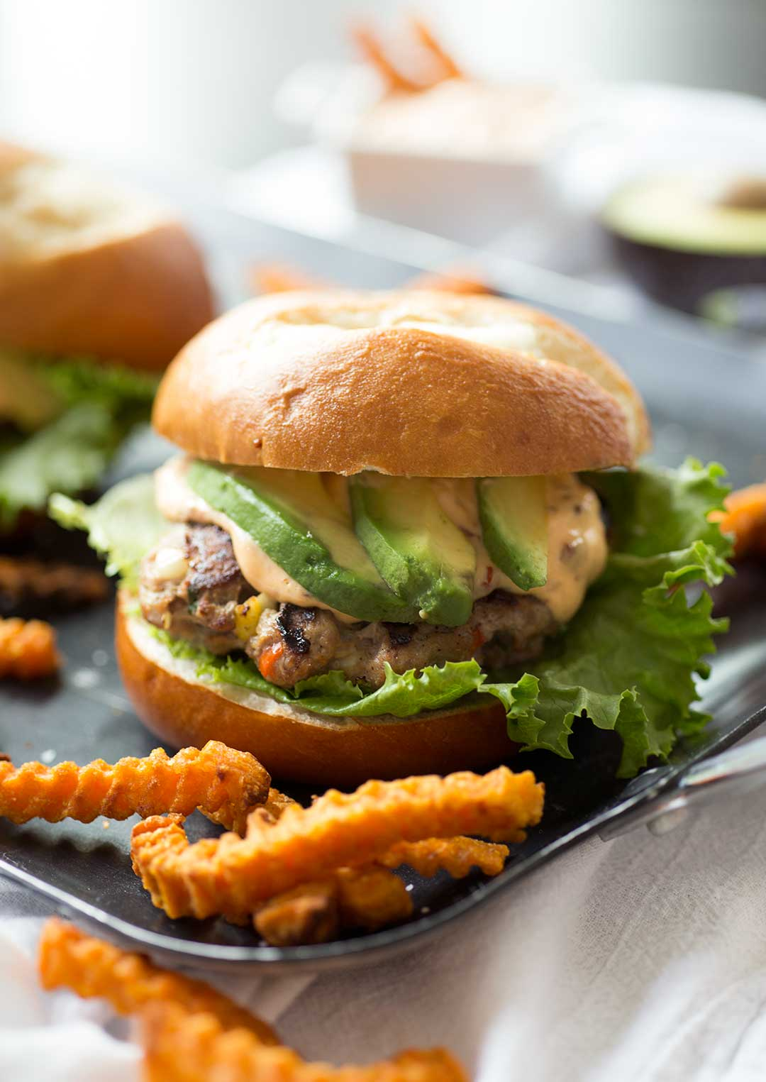 Southwest Turkey Burgers with Chipotle-Lime Aioli - Cache Valley ...