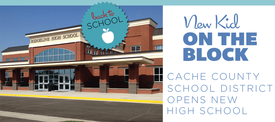 cache valley opens new high school