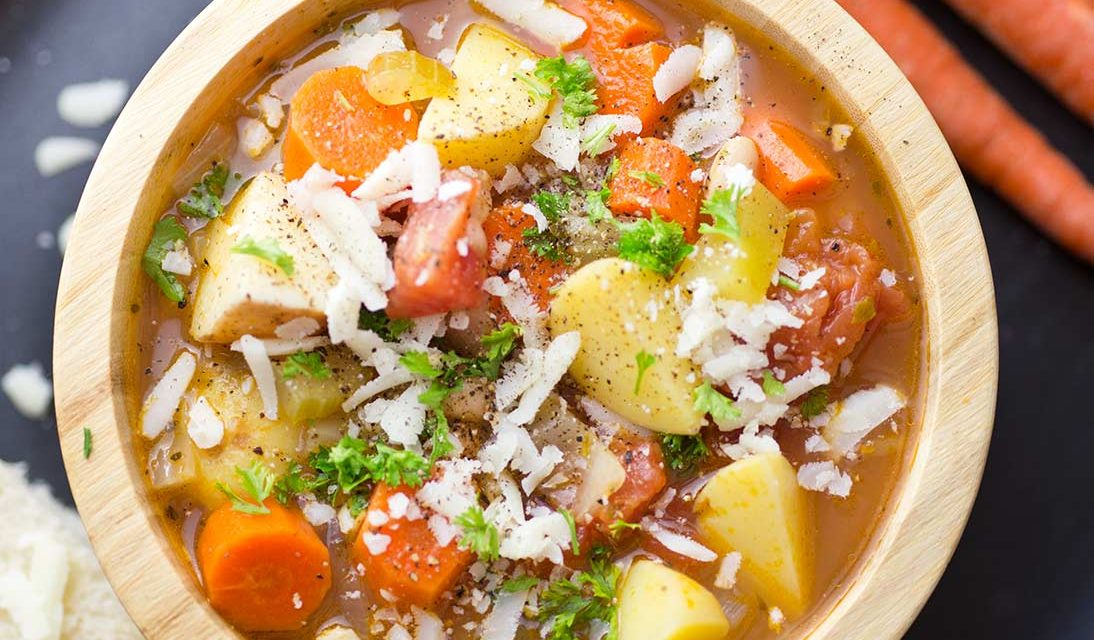 Tuscan Vegetable Soup Cache Valley Family Magazine