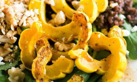 Delicata Squash and Wild Rice Salad
