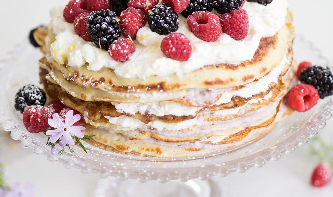 Breakfast Crepe Cake