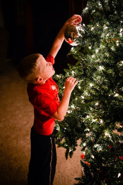 Take the Perfect Christmas Tree Photo