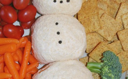 From the Farmer's Wife: Snowman Cheeseball
