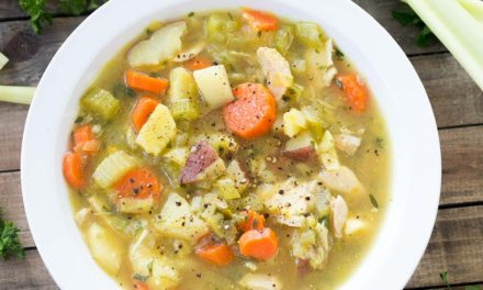 Freezer Chicken Soup