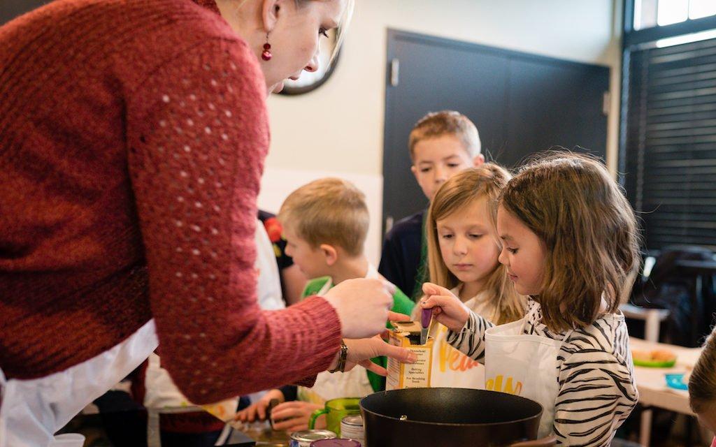 Kids Test Kitchen: Tomato Basil Soup