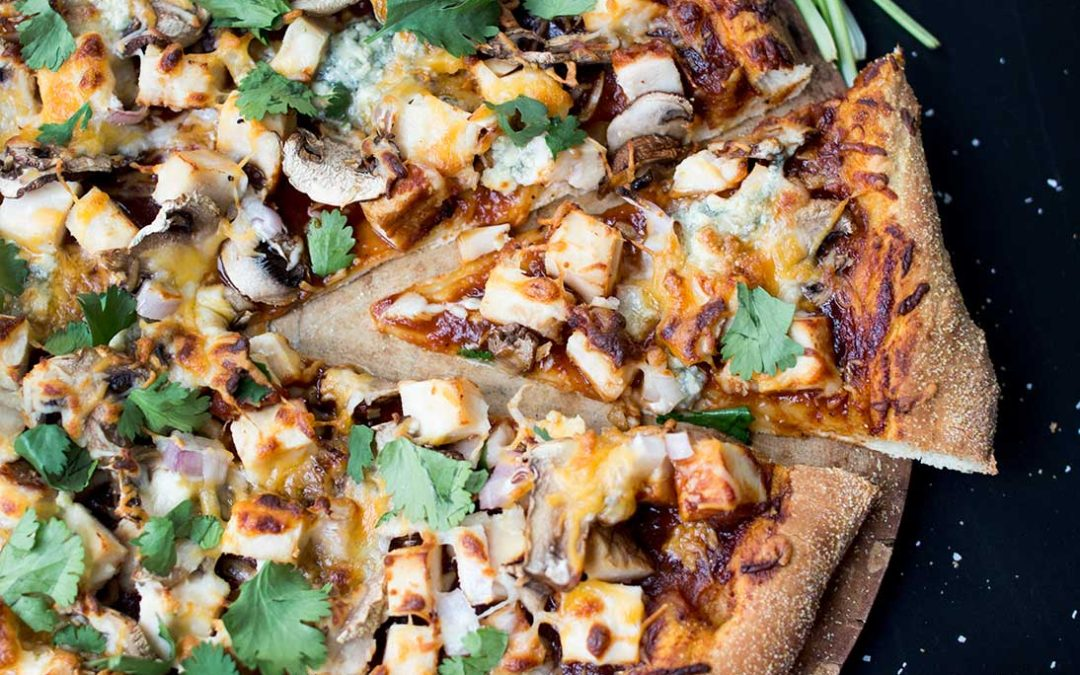 Classic BBQ Chicken Pizza