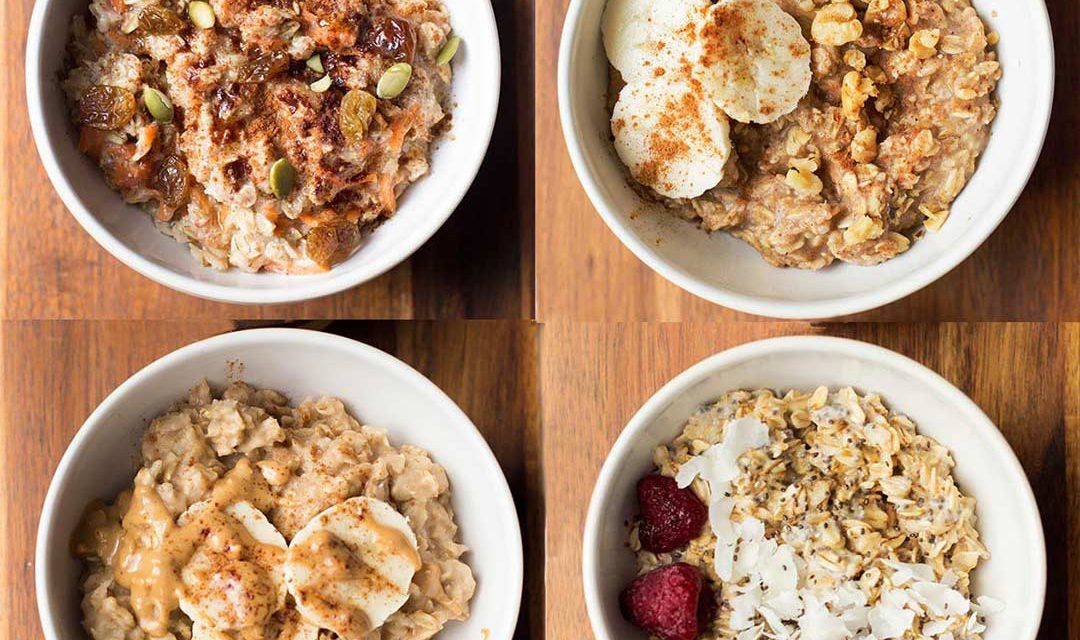 """4 """"Mix Up Your Morning"""" Oatmeal Recipes"""