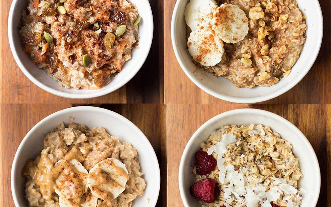 "4 ""Mix Up Your Morning"" Oatmeal Recipes"