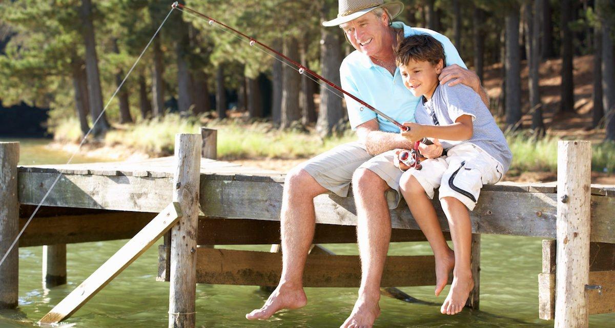 Teaching Kids to Fish in Utah