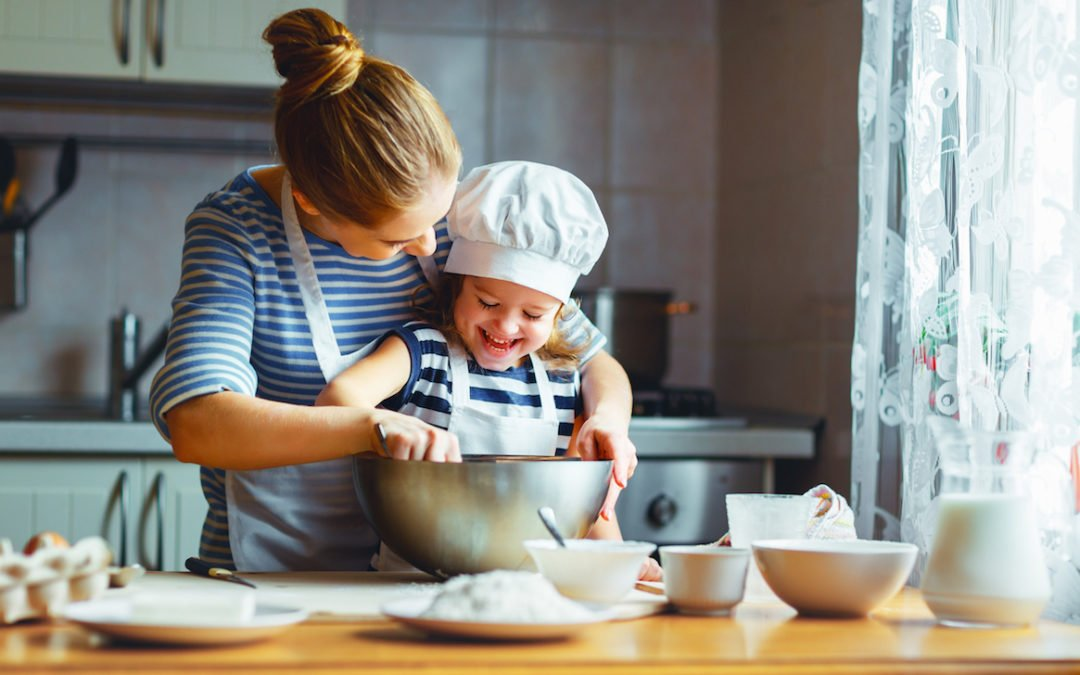 Helping in the Kitchen at Every Age