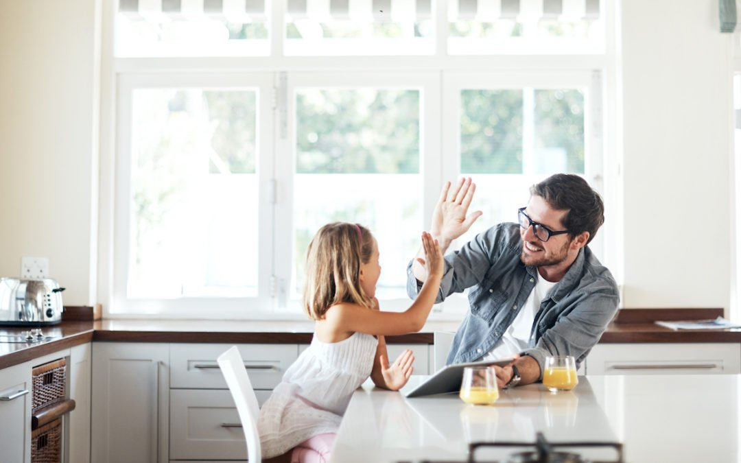 Positive Parenting to Earn an A+ on Your Parent Report Card