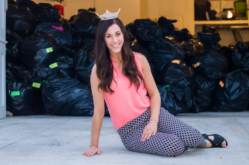 """When Miss Cache Valley Karlie Major was challenged by the Miss Utah organization to lead her community in collecting 1,000 pairs of shoes for Shoes for Love, a foundation that benefits the people of Ecuador, Africa and Haiti, she wondered how she would pull it off in just a few short weeks. She never imagined she would surpass that goal by more than 10 times, collecting in excess of 11,300 pairs. """"This community is amazing,"""" she said."""