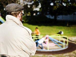 Stranger in Park