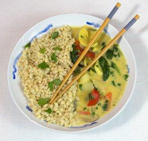 Homemade Coconut Curry