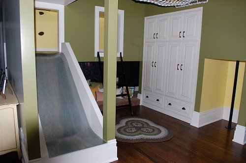 Creating an Indoor Children's Play Area