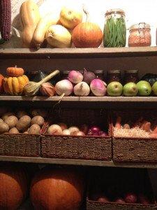 Winter Vegetable Storage