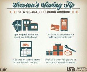 Season's savings table