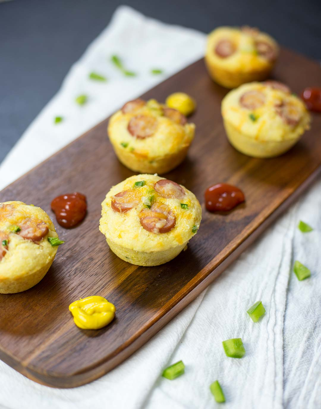 Corn-Dog Jalapeno Muffins