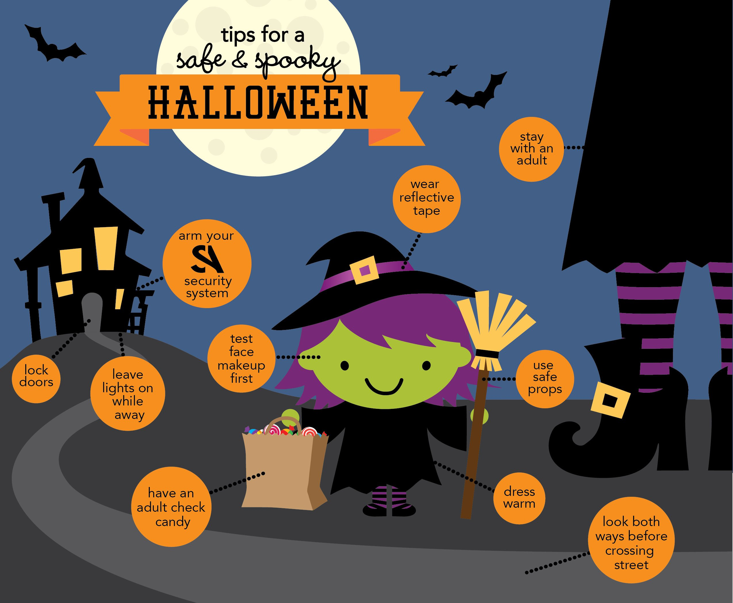 Tips for a Safe and Spooky Halloween