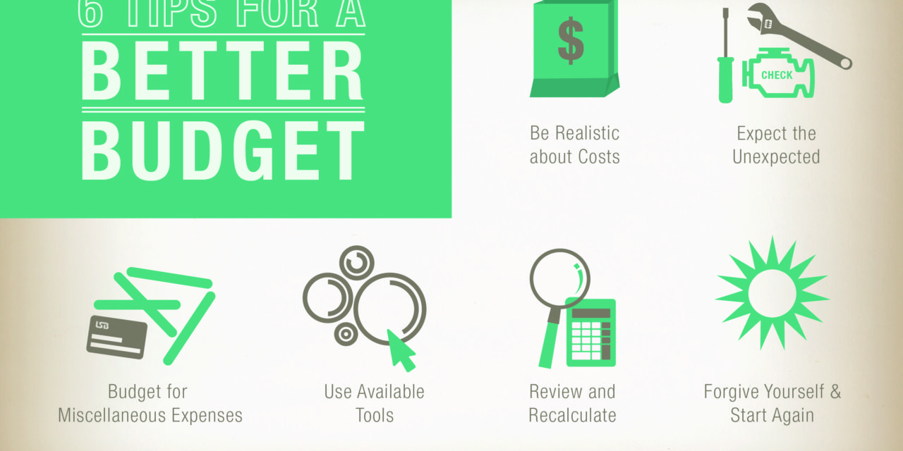 Six Tips for a Better Budget