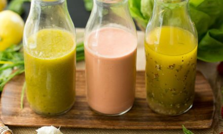 Three Spring Salad Dressings