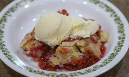 From the Farmer's Wife: Rhubarb Raspberry Pudding Cake