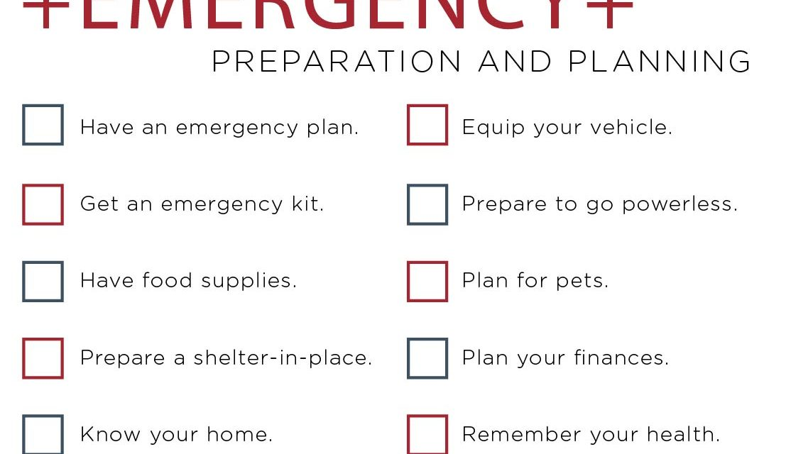 12 Steps to Family & Community Preparedness