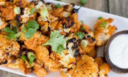 Roasted Buffalo Cauliflower