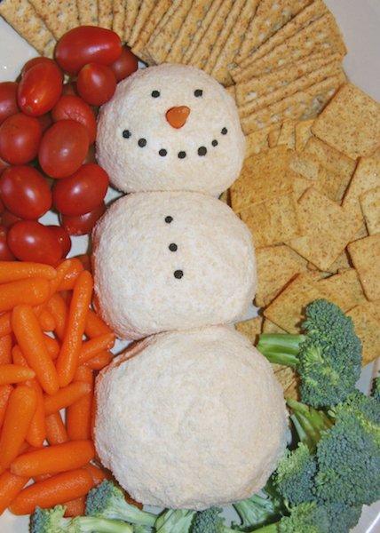 From the Farmer's Wife: Snowman Cheeseball