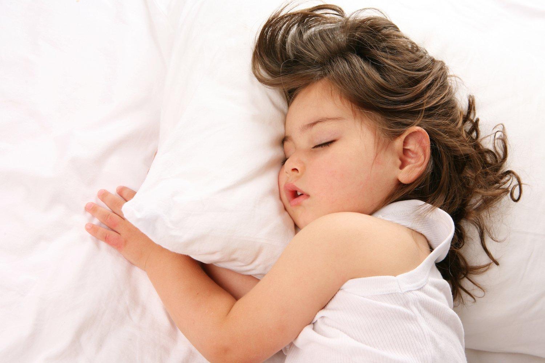 Baby Girl Sleeping Cache Valley Family Magazine