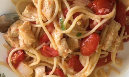 From the Farmer's Wife: Spaghetti Pomodoro
