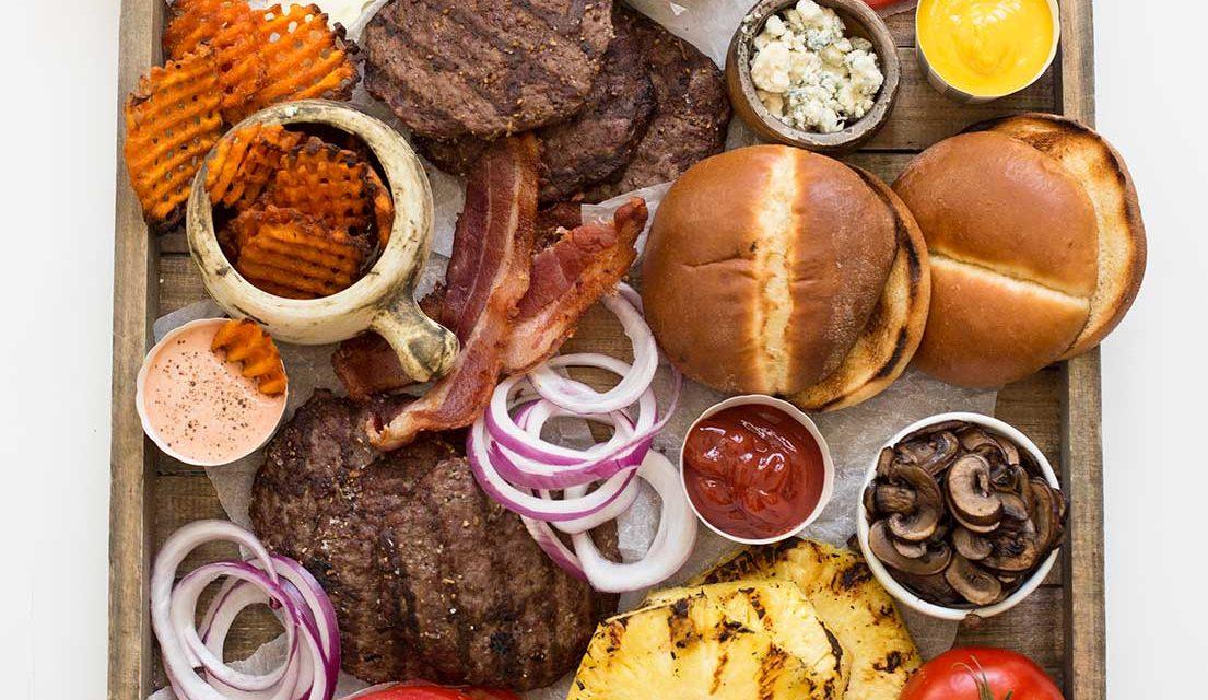 Gourmet Burger Board