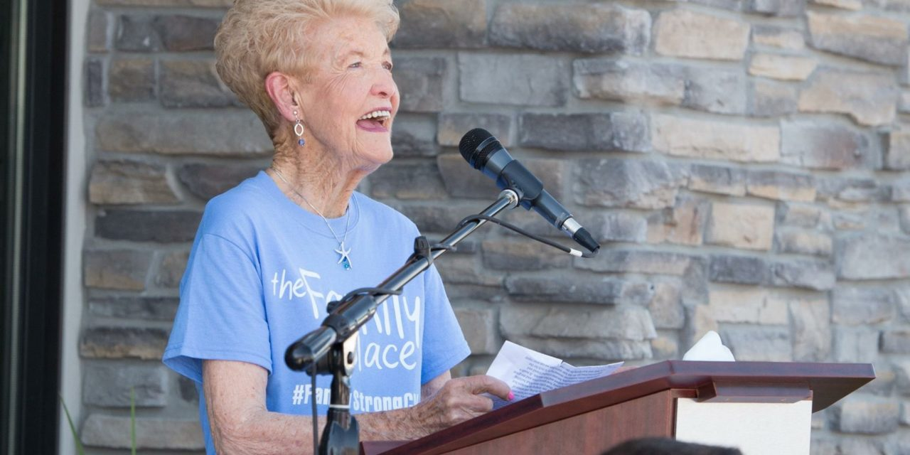 Changing the World One Child at a Time: Belva Hansen Receives Outstanding Community Service Award