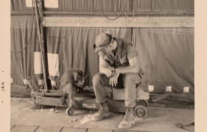 How Vietnam Veteran Terry Bright and Moe the Monkey Saved Lives