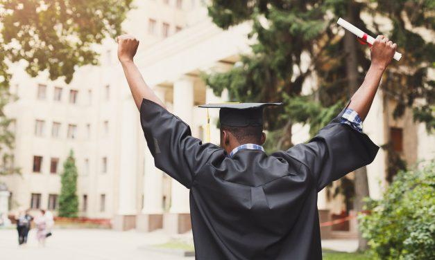 Graduate with One Foot in the Door