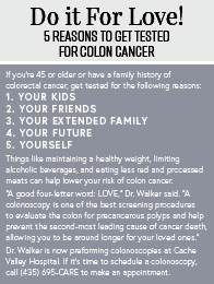 Colon Cancer Screenings: Get one at age 45, not 50!