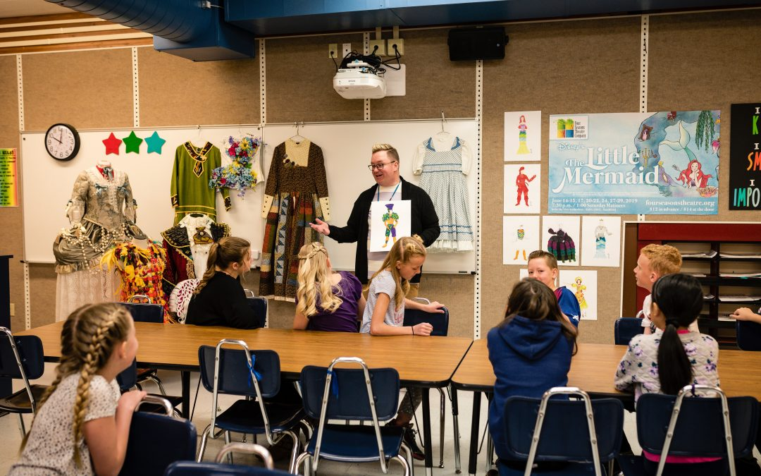 Elementary Students Experience Creative Journey