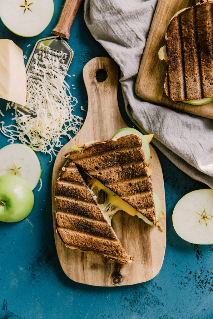 Grilled Apple Gouda Sandwich CVFM