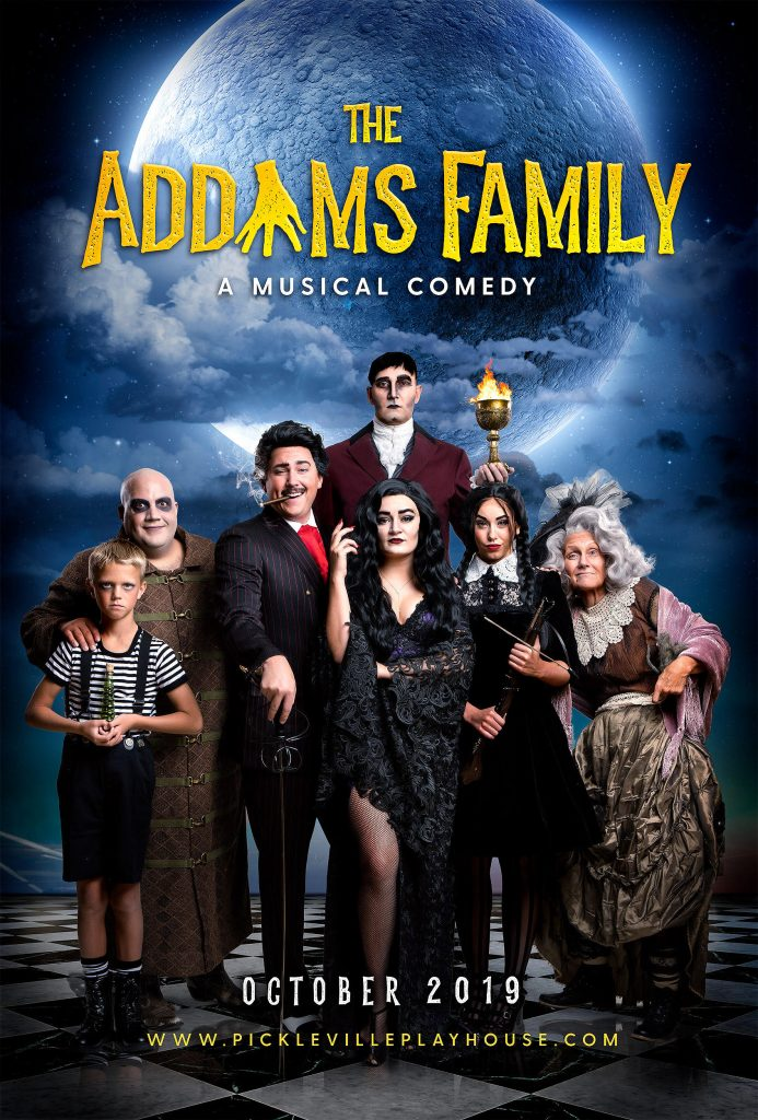 Pickleville Playhouse Addams Family
