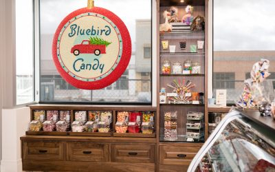 Experience a Bit of Christmas Nostalgia at Bluebird Candy