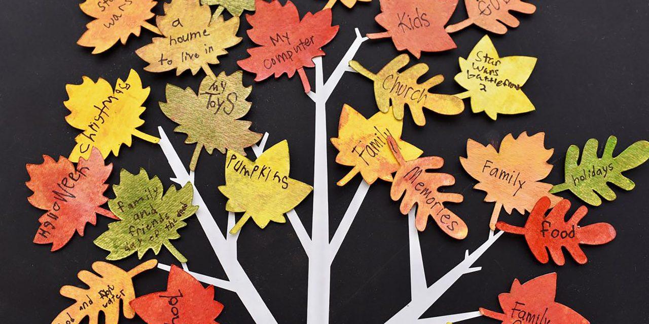 Make Thanksgiving Meaningful